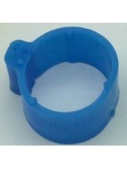 маркировочное кольцо (метка) для птицы . Диаметр 1,8см. Цвет синий