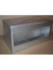 Напольная бункерная кормушка для любой домашней птицы