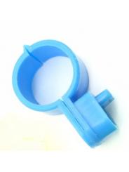 меточное кольцо для птицы . Диаметр 1,5см. Цвет синии.