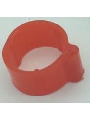 маркировочное кольцо для птицы . Диаметр 1,8см. Цвет красный