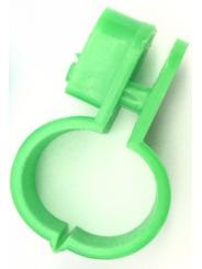 маркировочное кольцо для птицы . Диаметр 1,5см. Цвет зеленый.